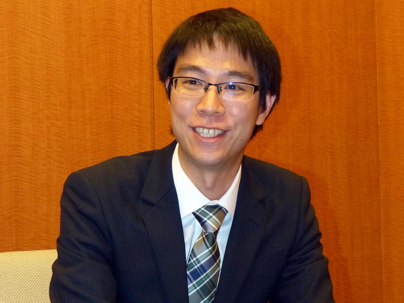 SN開発部 ネットワーク機器グループ 主任の新井田博之氏