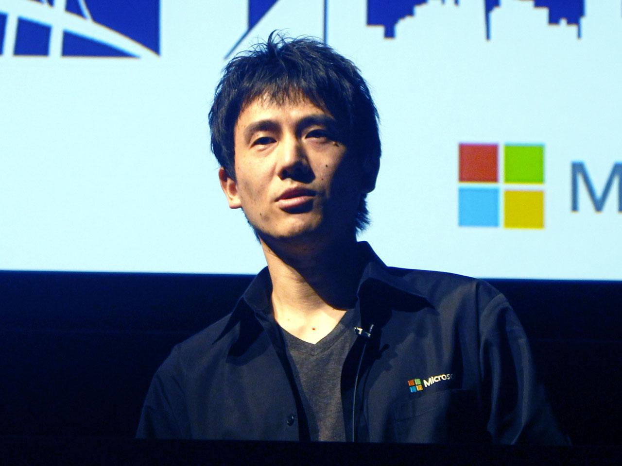 日本マイクロソフト株式会社 Global Black Belt IoTテクノロジーソリューションプロフェッショナルの中田 光昭氏