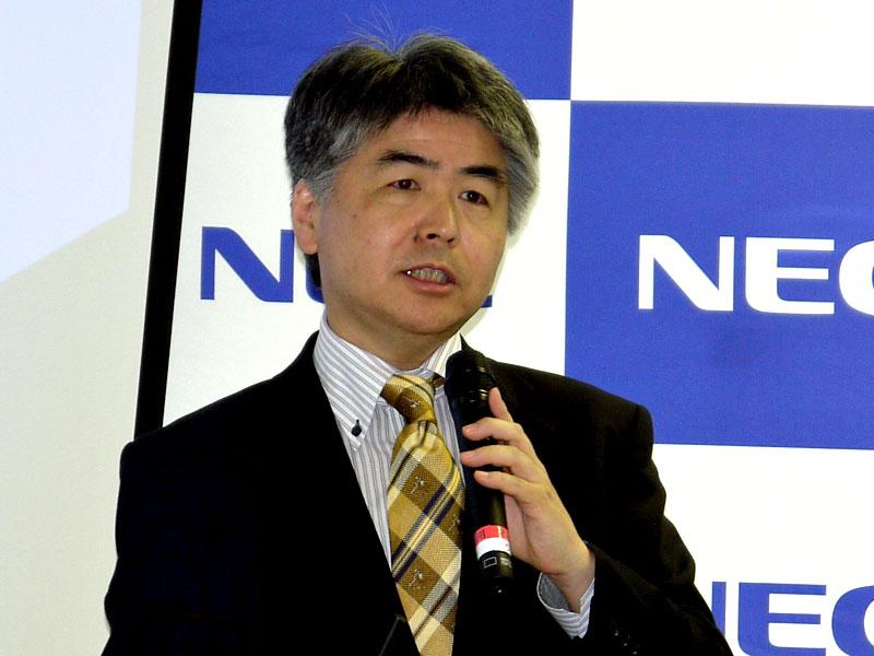NEC データサイエンス研究所 所長の山田昭雄氏