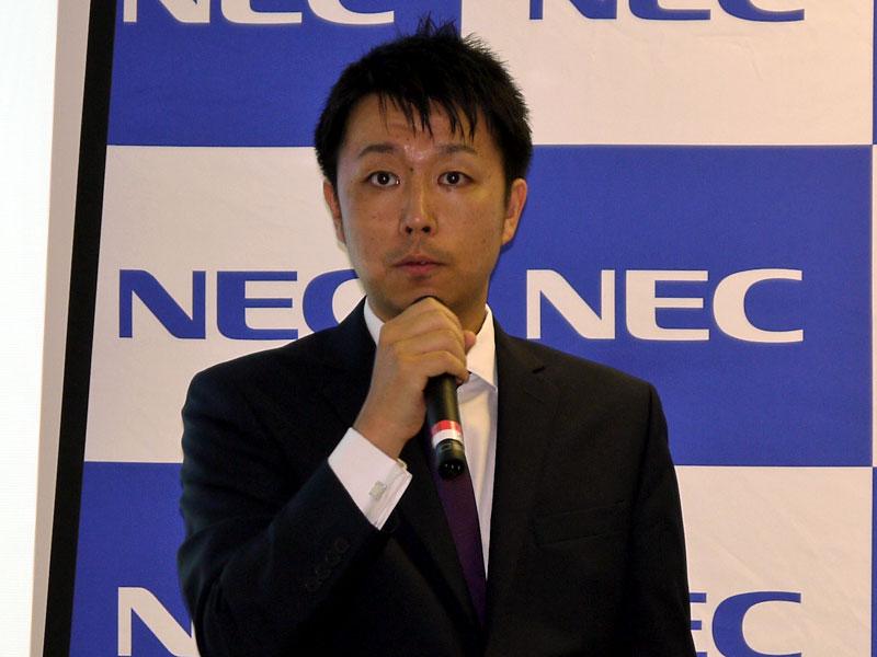 NEC データサイエンス研究所 主席研究員の藤巻遼平氏