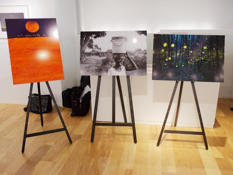 当日出席した受賞者の作品