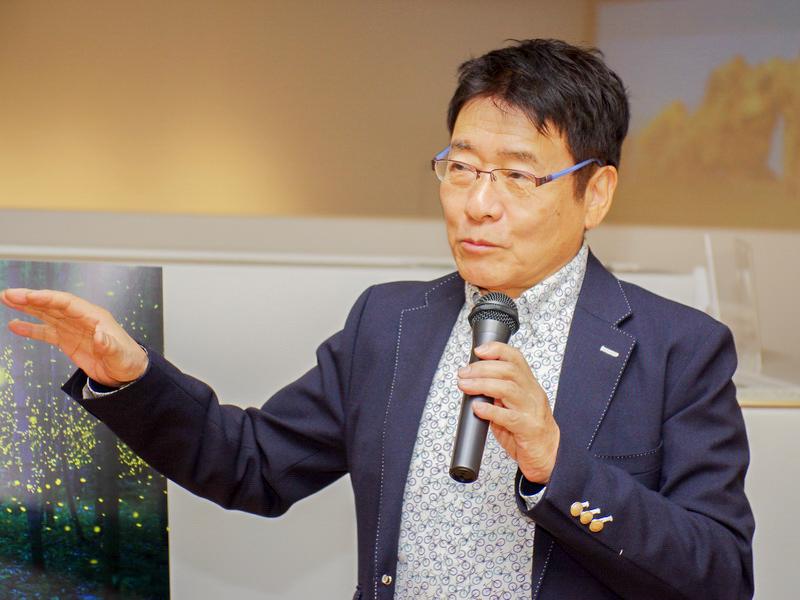 日本部門賞の審査員を務めたハービー・山口さん