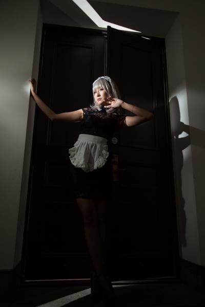 ドアの隙間から漏れた光が良いアクセントになった。スヌートも良い効果を生んだ