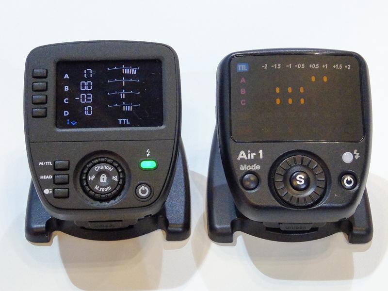 左からAirプロ、従来のAir1