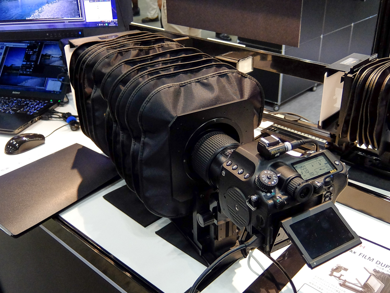 デモのカメラはPENTAX 645Z