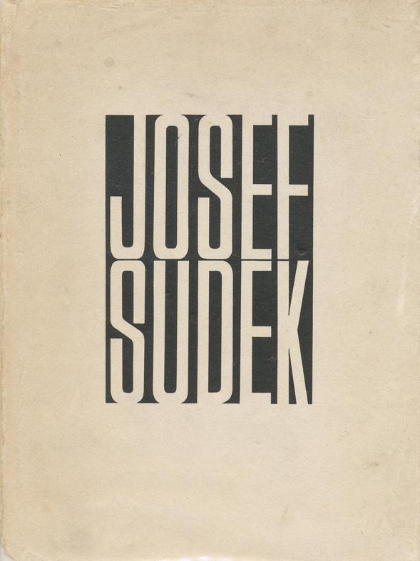 Josef Sudek『Josef Sudek Fotografie』Statni Nakladatelstvi Krasne Literatury(1956年)