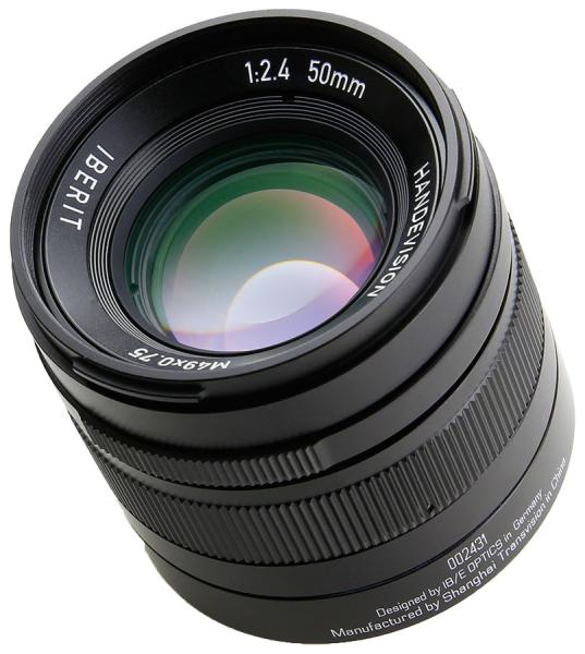 IBERIT 50mm f/2.4(ソニー用、以下同)