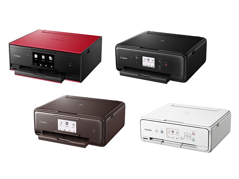 左上からTS9030、TS8030、TS6030、TS5030