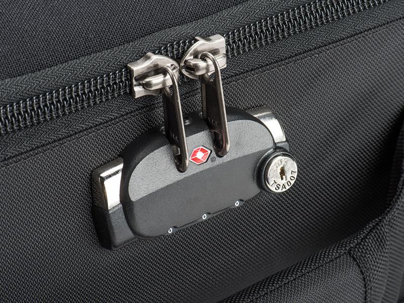 TSA認可のダイアルロック