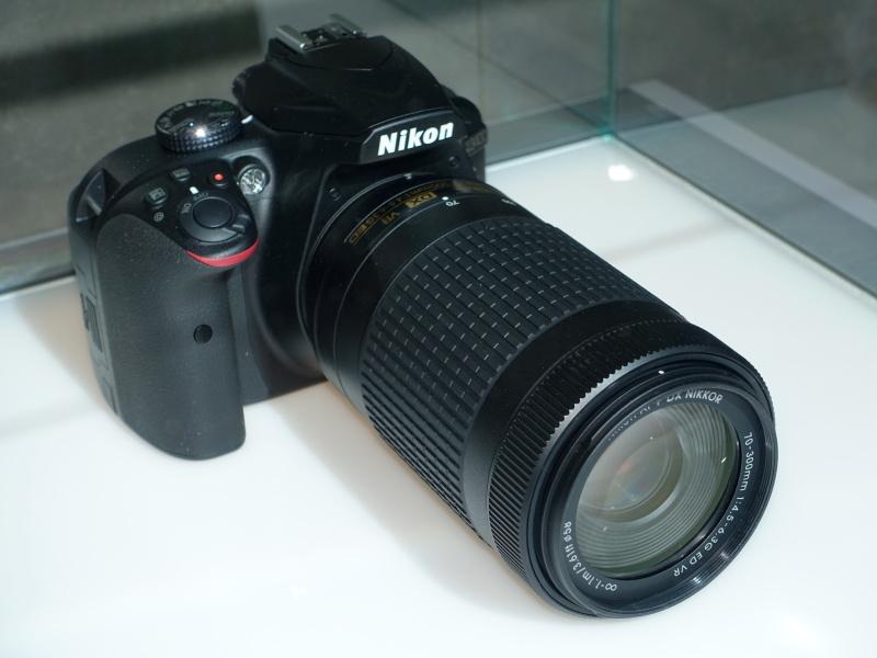 D3400+AF-P DX NIKKOR 70-300mm f/4.5-6.3G ED VR