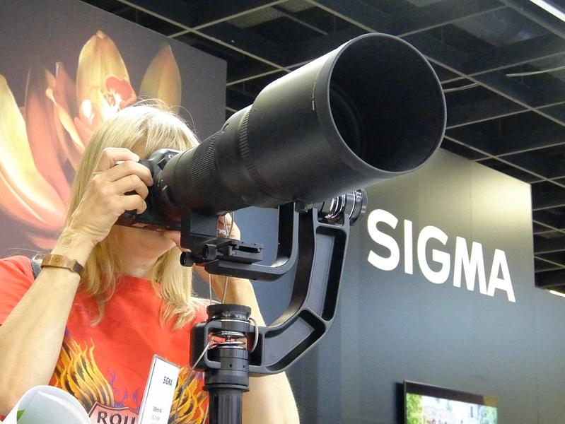 新しい500mm F4も試せる