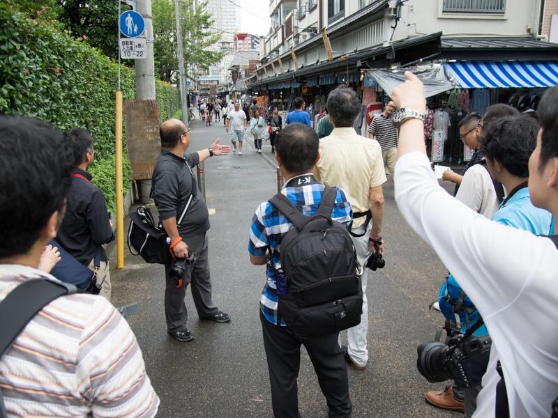 礒村さんの指導のもと、浅草界隈を撮り歩いた