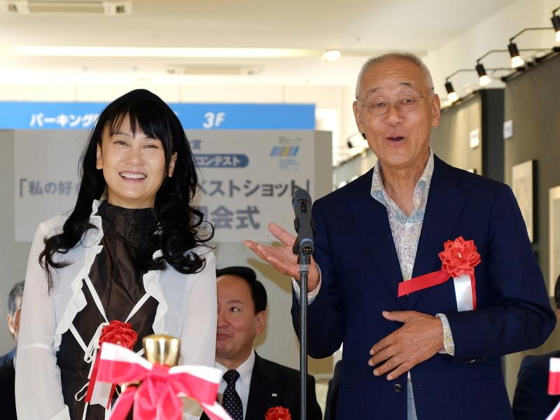 フォトライターの矢野直美氏と、鉄道写真家の広田尚敬氏
