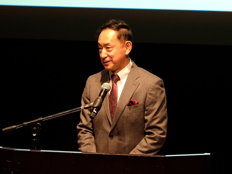 日本科学未来館 館長の毛利衛氏