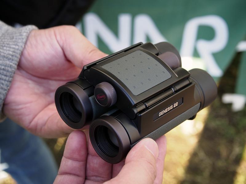 対物レンズに22mmのXDレンズを採用した8倍モデル「GENESIS 22 PROMINAR 8×22」。