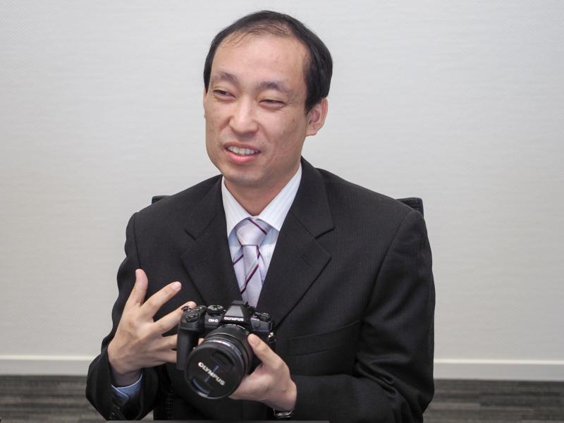 オリンパス株式会社 画像システム開発本部 メカ制御技術部 田中潔氏