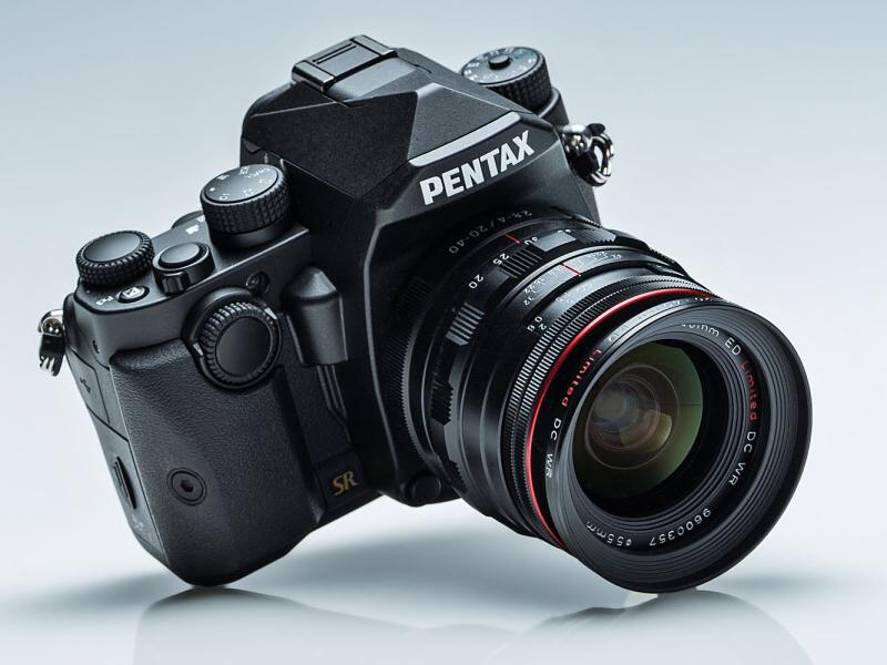 HD PENTAX-DA 20-40mmF2.8-4ED Limited DC WRを装着