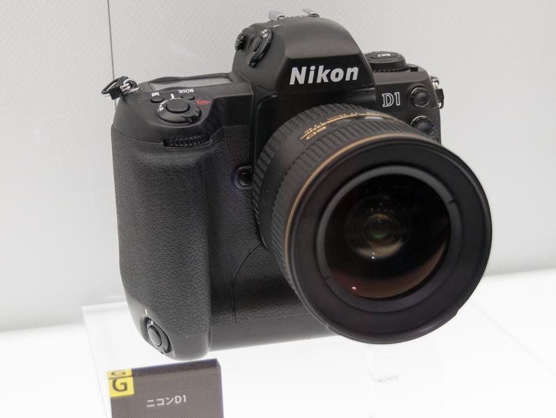 デジタル一眼レフカメラ普及の一翼を担った「ニコンD1」(1999年)