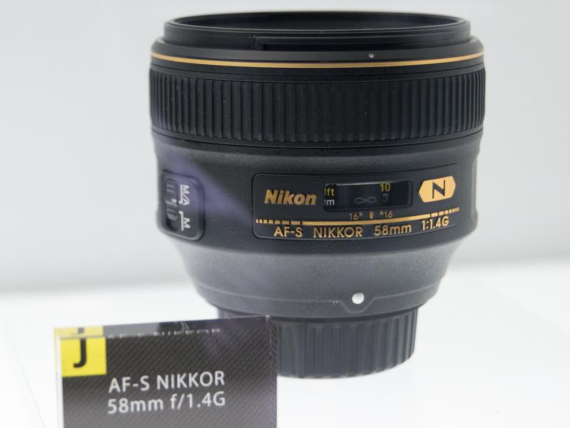 「3次元的ハイファイ」の設計思想でボケ味などにこだわった交換レンズ「AF-S NIKKOR 58mm f/1.4G」(2014年)