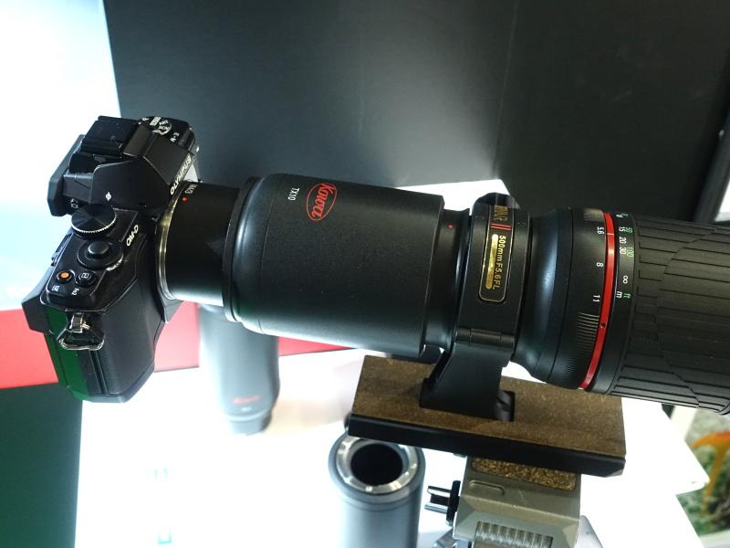 デジスコ体験も。アダプター経由で持参したカメラを組み合わせられる