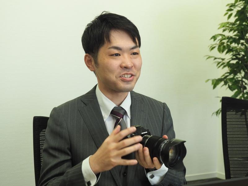 映像開発本部 映像商品企画部 商品企画1グループの小野憲司さん