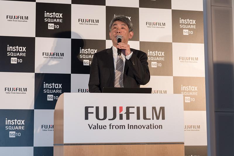 富士フイルム株式会社イメージング事業部長の武冨博信氏