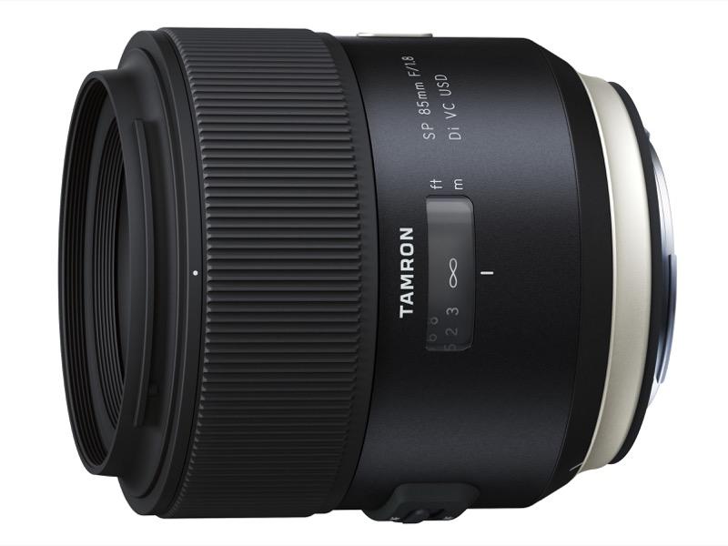 対象レンズのひとつ「SP 85mm F/1.8 Di VC USD」