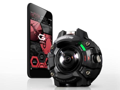 カシオ、タフネスカメラ新ブランド「G'z EYE」第1弾
