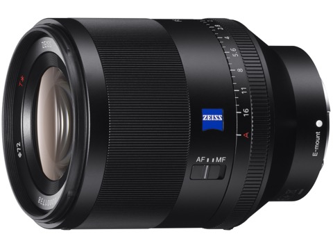 ソニー、「Planar T* FE 50mm F1.4 ZA」の無償修理を告知