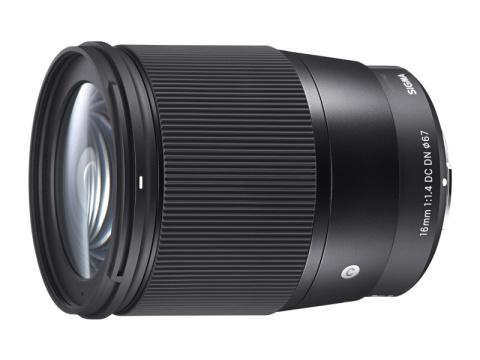 シグマ、ミラーレス用の広角レンズ「16mm F1.4 DC DN   C」を開発発表