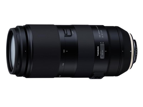 タムロン、100-400mm F/4.5-6.3 Di VC USDを正式発表