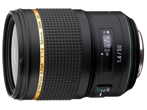 リコーイメージング、開発中の「D FA★50mmF1.4」を2018年春に発売 HD PENTAX-D FA★50mmF1.4 SDM AW(仮称)