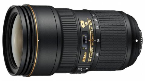 ニコン、「AF-S NIKKOR 24-70mm f/2.8E ED VR」の品不足を予告
