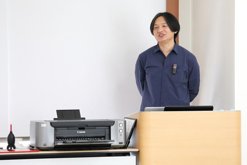 講師の岡嶋和幸さん