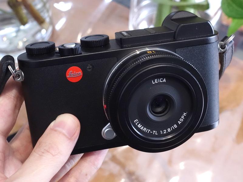 ライカCL+ライカ エルマリートTL f2.8/18mm ASPH.