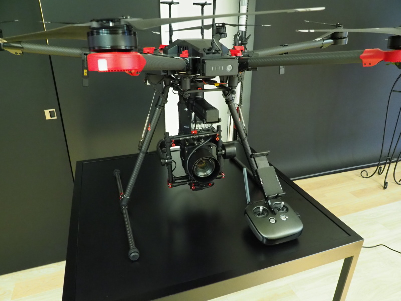 DJIのM600 ProドローンとハッセルブラッドA6D-100cの組み合わせ例