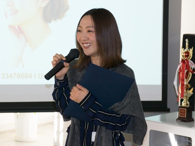 最も多くのヘアメイクオファーを受けた村松美乃里さん