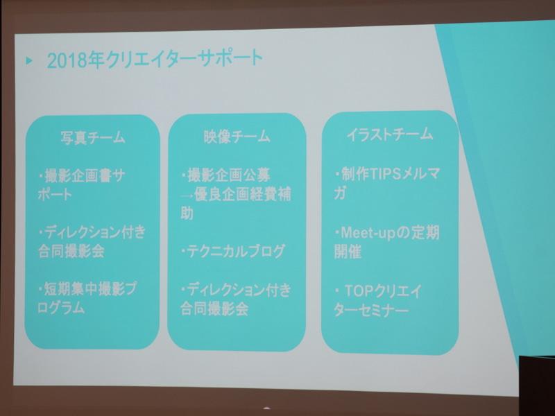 鈴木さん率いるクリエイターサポートチームでは、様々な形で素材作りの支援を行なっている