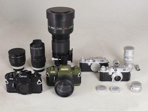 日本立体カメラ名鑑 Canonミニチュアコレクション 第二弾