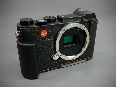 LIM'S Design LIM'S Leica CL用イタリアンレザーメタルグリップケース Black