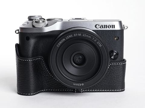 Ya Mei Technology CanonM6用ボディケース ブラック