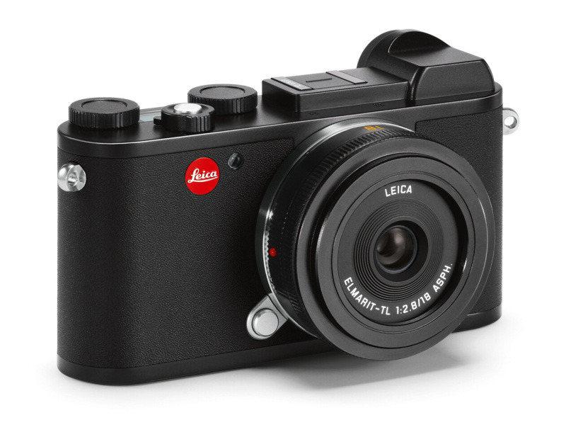 ライカCL+ライカ エルマリートTL f2.8/18mm ASPH.(ブラック)