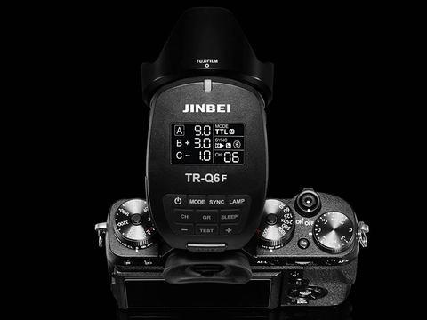 JINBEI TR-Q6F JINBEI TTL/HSS スマートトリガー(富士フイルム用)