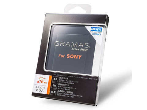 Extra Camera Glass DCG-SO08 SONY α7 III用