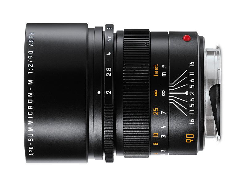 対象製品のひとつ「アポ・ズミクロンM F2/90mm ASPH.(6bit)」