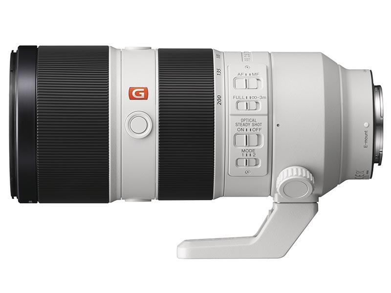 FE 70-200mm F2.8 GM OSS。2016年9月発売。実勢価格は税込32万4,000円前後。