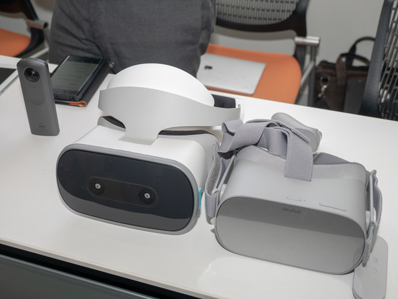 Oculus GoなどとTHETA Vが接続できるようになる。