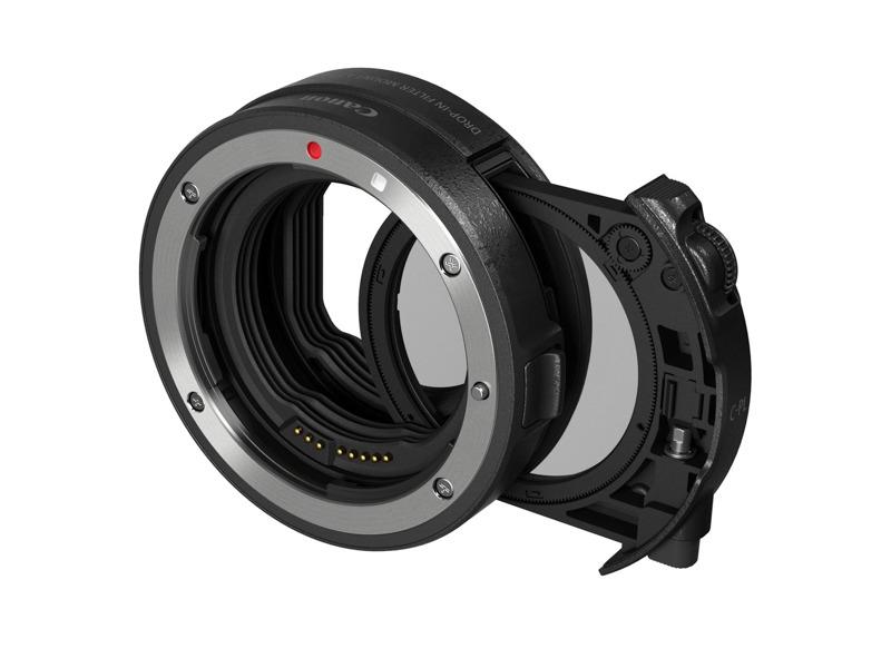 ドロップインフィルター マウントアダプター EF-EOS R ドロップイン 円偏光フィルター A 付