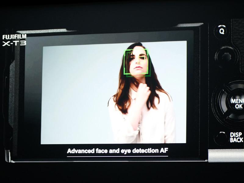 瞳認識AFのイメージ。