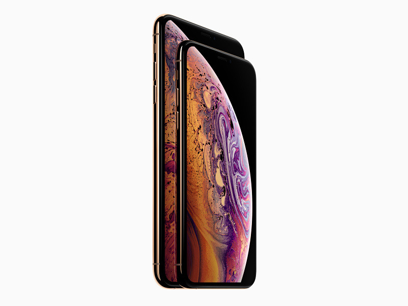 iPhone XS Max、iPhone XS